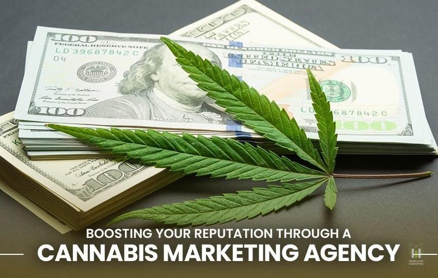 eputation through a Cannabis Marketing Agency